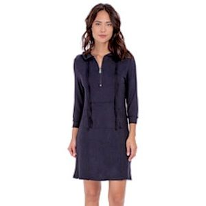Culture Phit Paige Luxe French Terry Hoodie Dress